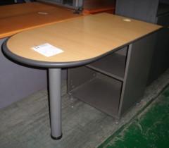 라운드 테이블1200  수납